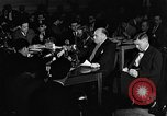 Image of Samuel Ornitz questioned by HUAC United States USA, 1947, second 8 stock footage video 65675050676