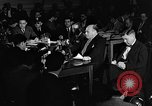 Image of Samuel Ornitz questioned by HUAC United States USA, 1947, second 9 stock footage video 65675050676