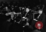 Image of Samuel Ornitz questioned by HUAC United States USA, 1947, second 42 stock footage video 65675050676
