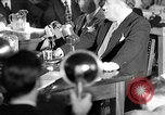 Image of Samuel Ornitz questioned by HUAC United States USA, 1947, second 62 stock footage video 65675050676