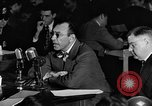 Image of Herbert Biberman questioned at HUAC United States USA, 1947, second 31 stock footage video 65675050677