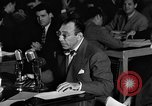 Image of Herbert Biberman questioned at HUAC United States USA, 1947, second 55 stock footage video 65675050677