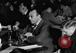 Image of Herbert Biberman questioned at HUAC United States USA, 1947, second 57 stock footage video 65675050677