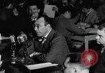 Image of Herbert Biberman questioned at HUAC United States USA, 1947, second 61 stock footage video 65675050677