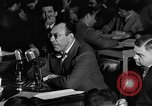 Image of Herbert Biberman questioned at HUAC United States USA, 1947, second 62 stock footage video 65675050677