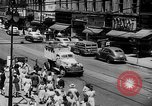 Image of model of a city Toledo Ohio USA, 1945, second 19 stock footage video 65675050685