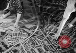 Image of model of a city Toledo Ohio USA, 1945, second 45 stock footage video 65675050685