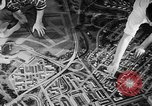 Image of model of a city Toledo Ohio USA, 1945, second 48 stock footage video 65675050685