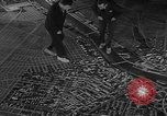 Image of model of a city Toledo Ohio USA, 1945, second 50 stock footage video 65675050685
