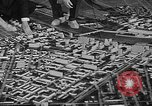 Image of model of a city Toledo Ohio USA, 1945, second 57 stock footage video 65675050685