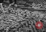 Image of model of a city Toledo Ohio USA, 1945, second 58 stock footage video 65675050685