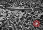 Image of model of a city Toledo Ohio USA, 1945, second 61 stock footage video 65675050685