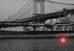 Image of USS Monterey New York City USA, 1945, second 37 stock footage video 65675050697