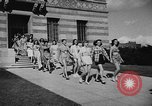 Image of display of dresses California United States USA, 1945, second 14 stock footage video 65675050698