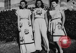 Image of display of dresses California United States USA, 1945, second 34 stock footage video 65675050698