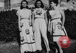 Image of display of dresses California United States USA, 1945, second 35 stock footage video 65675050698