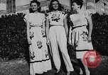 Image of display of dresses California United States USA, 1945, second 36 stock footage video 65675050698