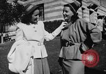 Image of display of dresses California United States USA, 1945, second 38 stock footage video 65675050698