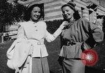 Image of display of dresses California United States USA, 1945, second 39 stock footage video 65675050698