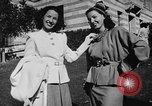Image of display of dresses California United States USA, 1945, second 40 stock footage video 65675050698