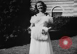 Image of display of dresses California United States USA, 1945, second 41 stock footage video 65675050698