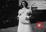 Image of display of dresses California United States USA, 1945, second 42 stock footage video 65675050698