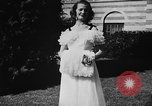 Image of display of dresses California United States USA, 1945, second 44 stock footage video 65675050698