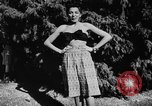 Image of display of dresses California United States USA, 1945, second 53 stock footage video 65675050698