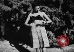 Image of display of dresses California United States USA, 1945, second 54 stock footage video 65675050698