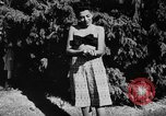 Image of display of dresses California United States USA, 1945, second 55 stock footage video 65675050698