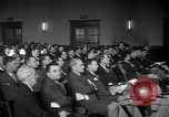 Image of group of men United States USA, 1945, second 16 stock footage video 65675050702