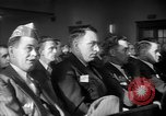 Image of group of men United States USA, 1945, second 22 stock footage video 65675050702
