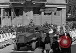Image of funeral procession Europe, 1945, second 8 stock footage video 65675050705