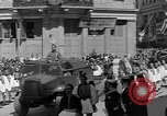 Image of funeral procession Europe, 1945, second 9 stock footage video 65675050705
