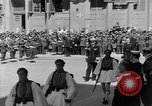 Image of funeral procession Europe, 1945, second 16 stock footage video 65675050705
