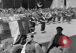 Image of funeral procession Europe, 1945, second 19 stock footage video 65675050705