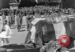 Image of funeral procession Europe, 1945, second 21 stock footage video 65675050705
