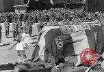 Image of funeral procession Europe, 1945, second 23 stock footage video 65675050705