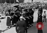 Image of funeral procession Europe, 1945, second 31 stock footage video 65675050705