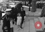 Image of funeral procession Europe, 1945, second 55 stock footage video 65675050705