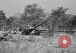 Image of Antiaircraft gunners throw off camouflage and maneuver guns Hammond Louisiana USA, 1943, second 3 stock footage video 65675050733