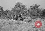 Image of Antiaircraft gunners throw off camouflage and maneuver guns Hammond Louisiana USA, 1943, second 8 stock footage video 65675050733