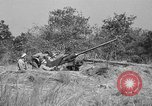 Image of Antiaircraft gunners throw off camouflage and maneuver guns Hammond Louisiana USA, 1943, second 11 stock footage video 65675050733