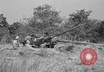 Image of Antiaircraft gunners throw off camouflage and maneuver guns Hammond Louisiana USA, 1943, second 13 stock footage video 65675050733