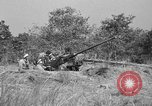 Image of Antiaircraft gunners throw off camouflage and maneuver guns Hammond Louisiana USA, 1943, second 14 stock footage video 65675050733