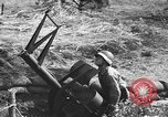 Image of Antiaircraft gunners throw off camouflage and maneuver guns Hammond Louisiana USA, 1943, second 41 stock footage video 65675050733