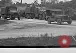Image of U.S. Army troops practice road blocking tactics Hammond Louisiana USA, 1943, second 5 stock footage video 65675050737