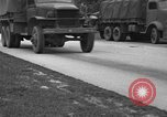 Image of U.S. Army troops practice road blocking tactics Hammond Louisiana USA, 1943, second 10 stock footage video 65675050737
