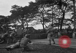 Image of U.S. Army troops practice road blocking tactics Hammond Louisiana USA, 1943, second 23 stock footage video 65675050737