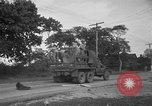 Image of U.S. Army troops practice road blocking tactics Hammond Louisiana USA, 1943, second 36 stock footage video 65675050737